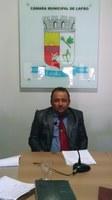 Sessão Ordinária da Câmara Municipal de Lapão